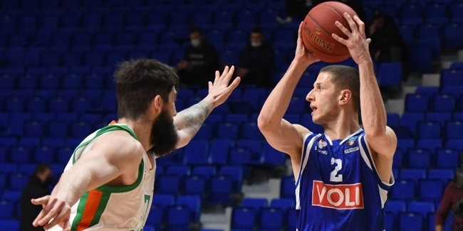 Buducnost hustled its way past Olimpija