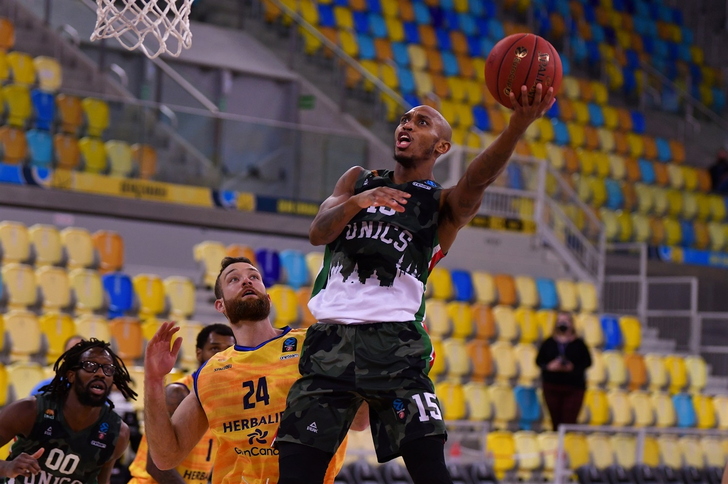 Jamar Smith - UNICS Kazan (photo Fernando Robledano - Gran Canaria) - EC20