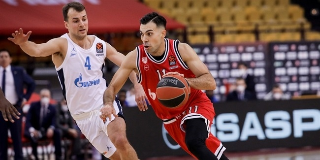 RS Round 29: Olympiacos Piraeus vs. Zenit St Petersburg