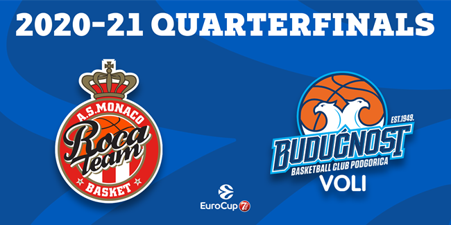 Series breakdown: AS Monaco vs. Buducnost VOLI Podgorica