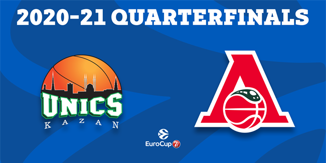 Series breakdown: UNICS Kazan vs. Lokomotiv Kuban Krasnodar