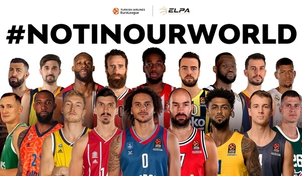 EuroLeague clubs, players renew call for racial tolerance