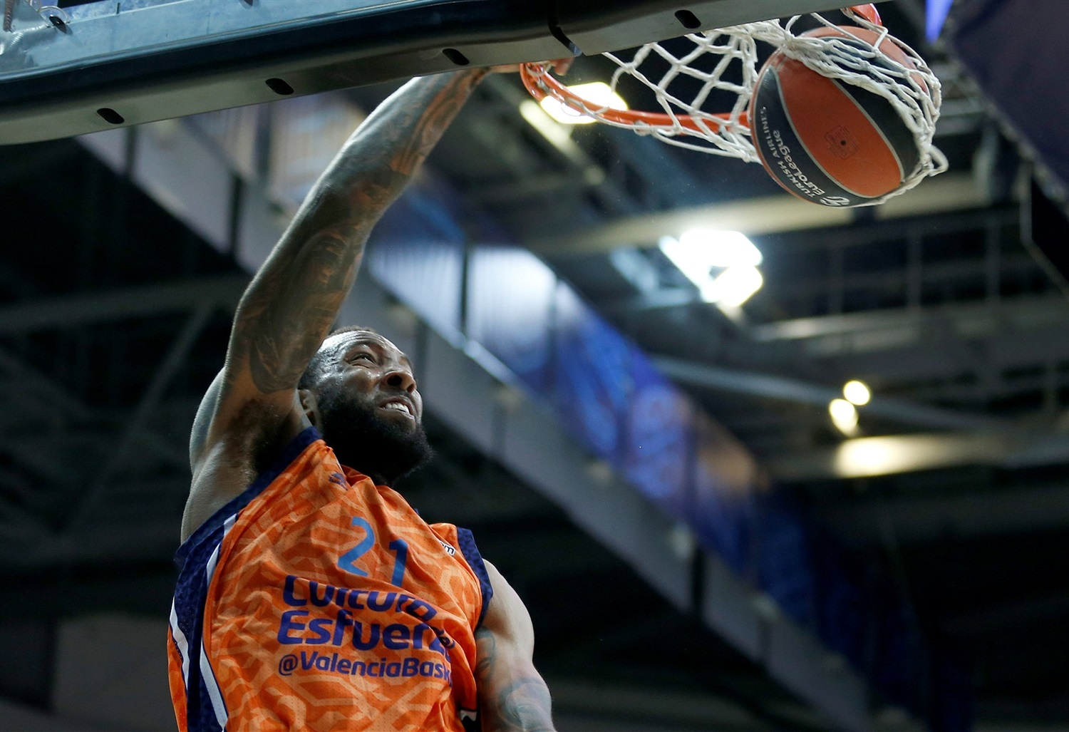 Derrick Williams - Valencia Basket - EB20
