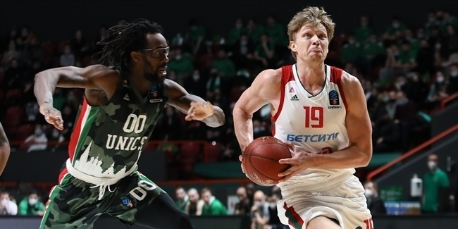 7DAYS EuroCup, Quarterfinals Game 1: UNICS Kazan vs. Lokomotiv Kuban Krasnodar
