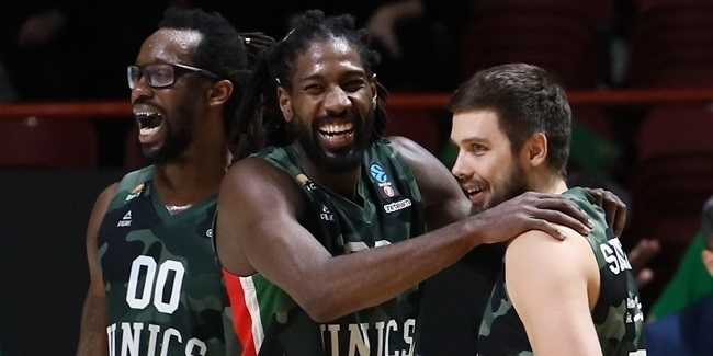 Game 3 between UNICS and Virtus shattered playoffs scoring marks