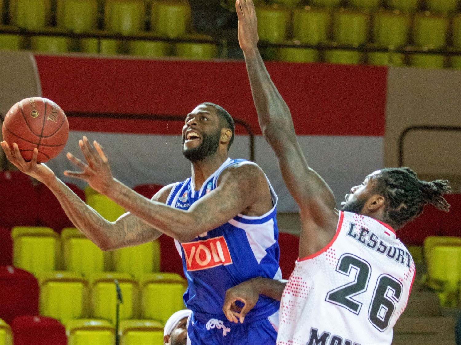 Willie Reed - Buducnost VOLI Podgorica (photo Monaco) - EC20