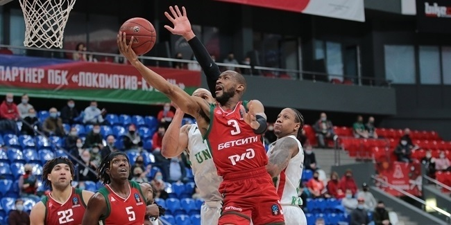 7DAYS EuroCup, Quarterfinals Game 2: Lokomotiv Kuban Krasnodar vs. UNICS Kazan