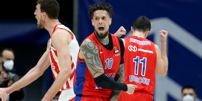 CSKA's Hackett injures shoulder