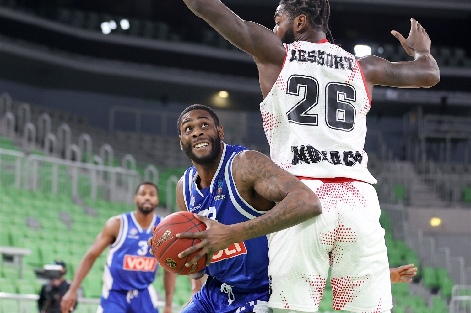 Willie Reed - AS Monaco (photo Buducnost) - EC20