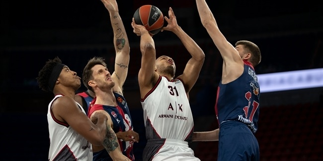 RS Round 31:  TD Systems Baskonia Vitoria-Gasteiz vs. AX Armani Exchange Milan