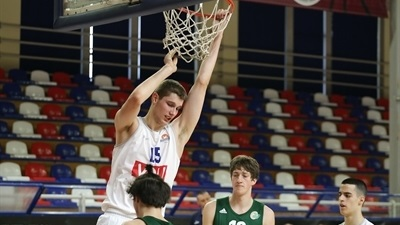 Buducnost fights off Olimpija, moves to 2-0