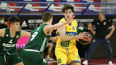 Maccabi grabs fifth place with win over Olimpija