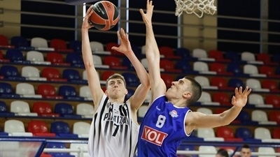 Partizan downs Buducnost for third place