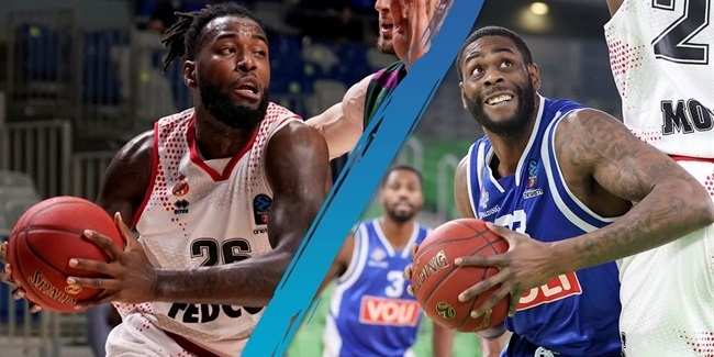 Head-to-Head: Mathias Lessort vs. Willie Reed
