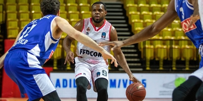 Monaco advanced through rebounding dominance