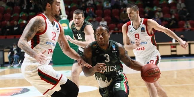7DAYS EuroCup, Quarterfinals Game 3: UNICS Kazan vs. Lokomotiv Kuban Krasnodar