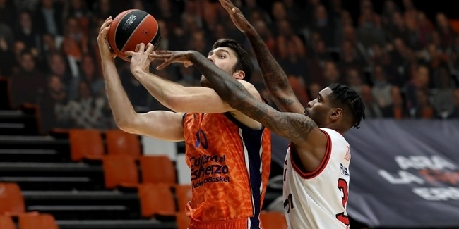 RS Round 32: Valencia Basket vs. Olympiacos Piraeus