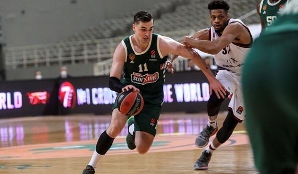 RS33 Report:Panathinaikos rallies from 20 down to beat Milan in OT