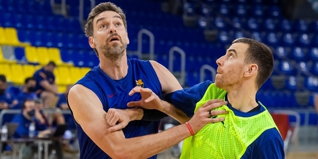 Gasol announces Friday return for Barca!