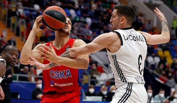 RS34 Report: CSKA beats ASVEL to clinch second place