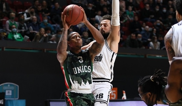 Semifinals Game 2 Report: UNICS hands Virtus first loss of season