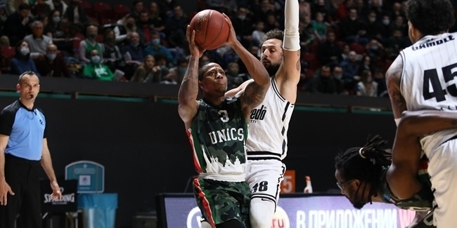 7DAYS EuroCup Semifinals, Game 2: UNICS Kazan vs. Virtus Segafredo Bologna