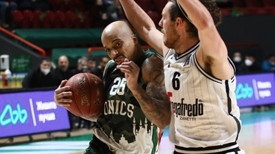 UNICS guards forced Game 3 in Bologna