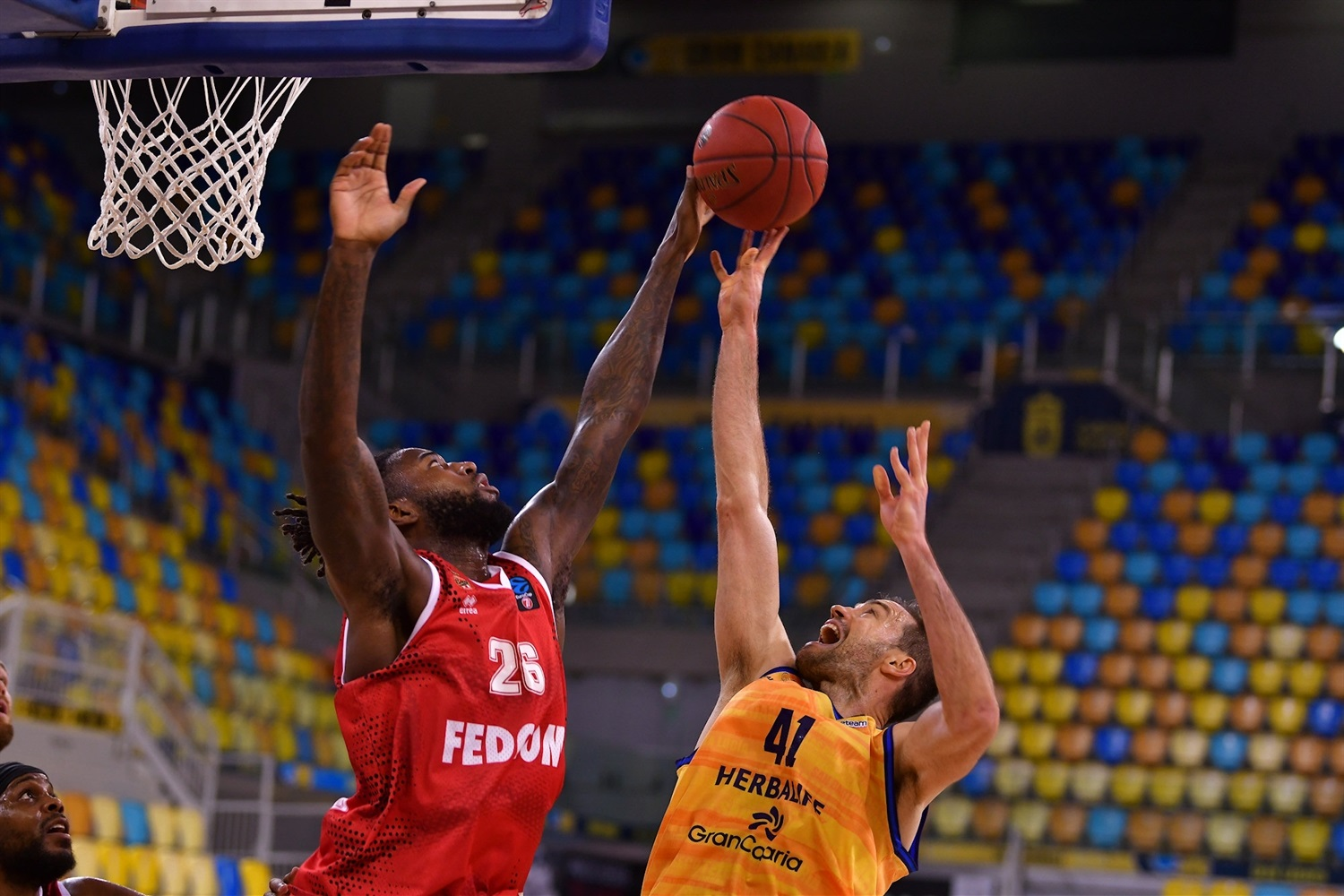 Mathias Lessort - AS Monaco (photo Fernando Robledano - Gran Canaria) - EC20