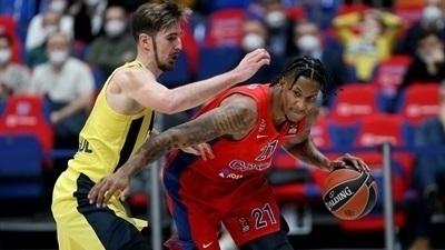 CSKA pulled away late to beat Fenerbahce