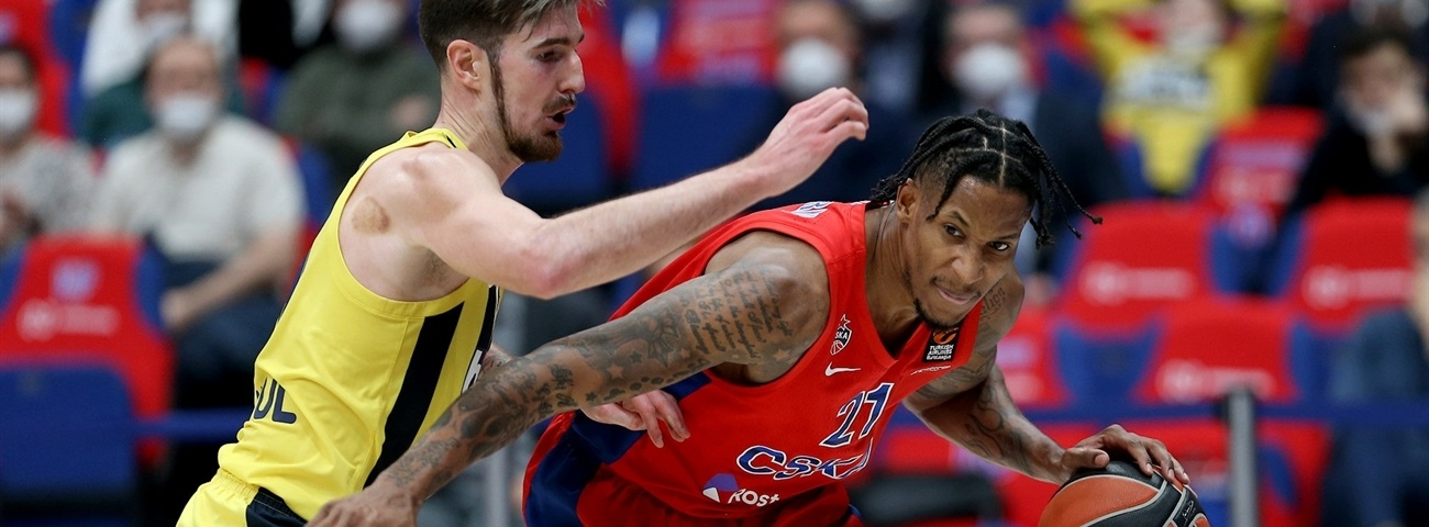 Will Clyburn, CSKA: 'You worked the whole season to get to this point.'