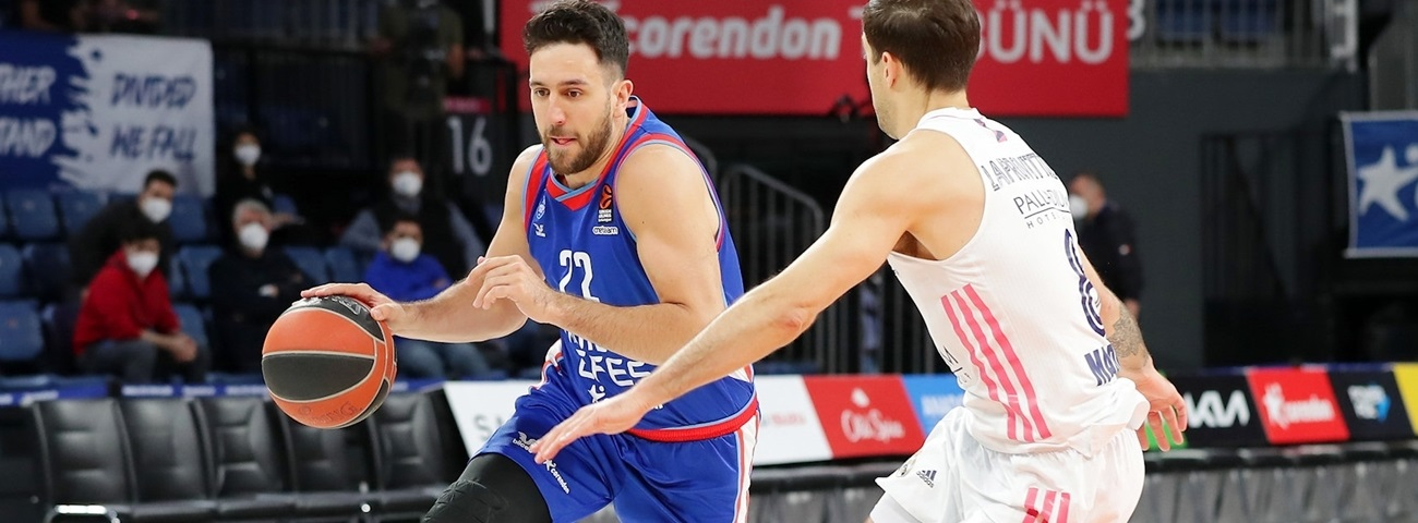 Final Four numbers: Efes's ball-handling