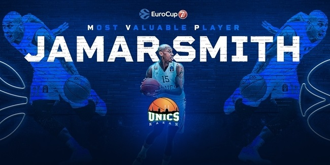 2020-21 7DAYS EuroCup MVP: Jamar Smith, UNICS Kazan