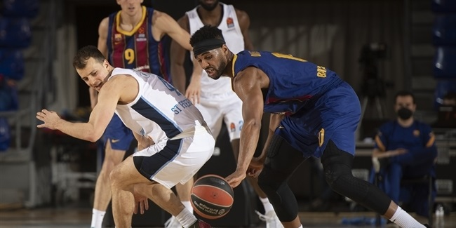 Co-MVPs of the Week: Pangos, Zenit and Davies, Barcelona