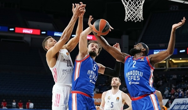 PO Game 5 Report: Efes edges Real to take series
