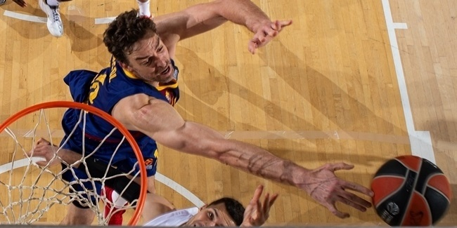 Gasol's blocks helped Barcelona to Final Four