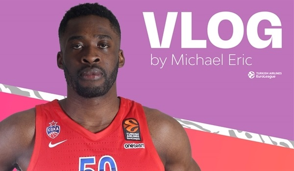 Final Four Vlog: Michael Eric, CSKA Moscow
