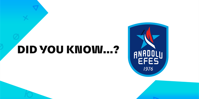 Anadolu Efes Istanbul's Final Four facts