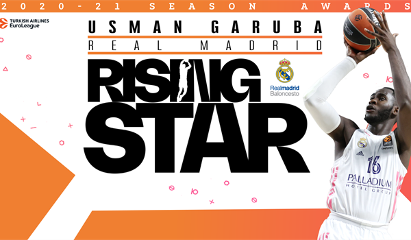 Rising Star Trophy winner: Usman Garuba, Real Madrid