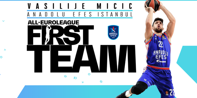 Efes's Micic reaches All-EuroLeague First Team!