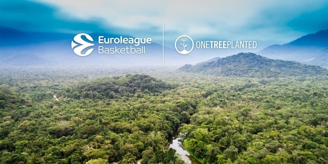 Euroleague Basketball supports One Tree Planted
