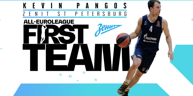 Kevin Pangos is voted to All-EuroLeague First Team