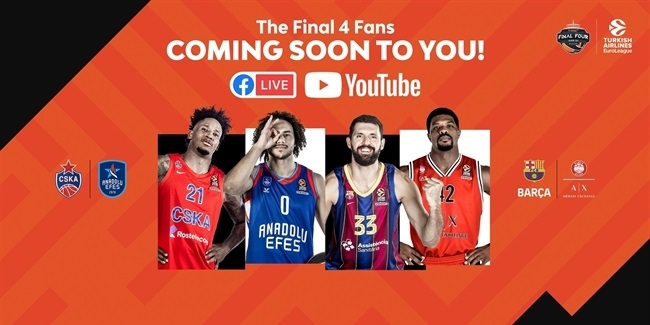 Final 4 Fans – an #F4GLORY digital feast, live from Cologne