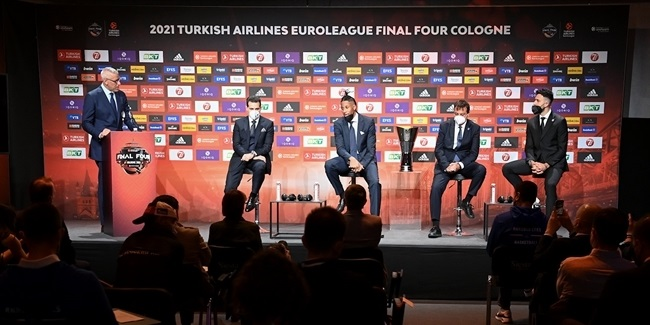 Final Four Cologne 2021 - Opening Press Conference