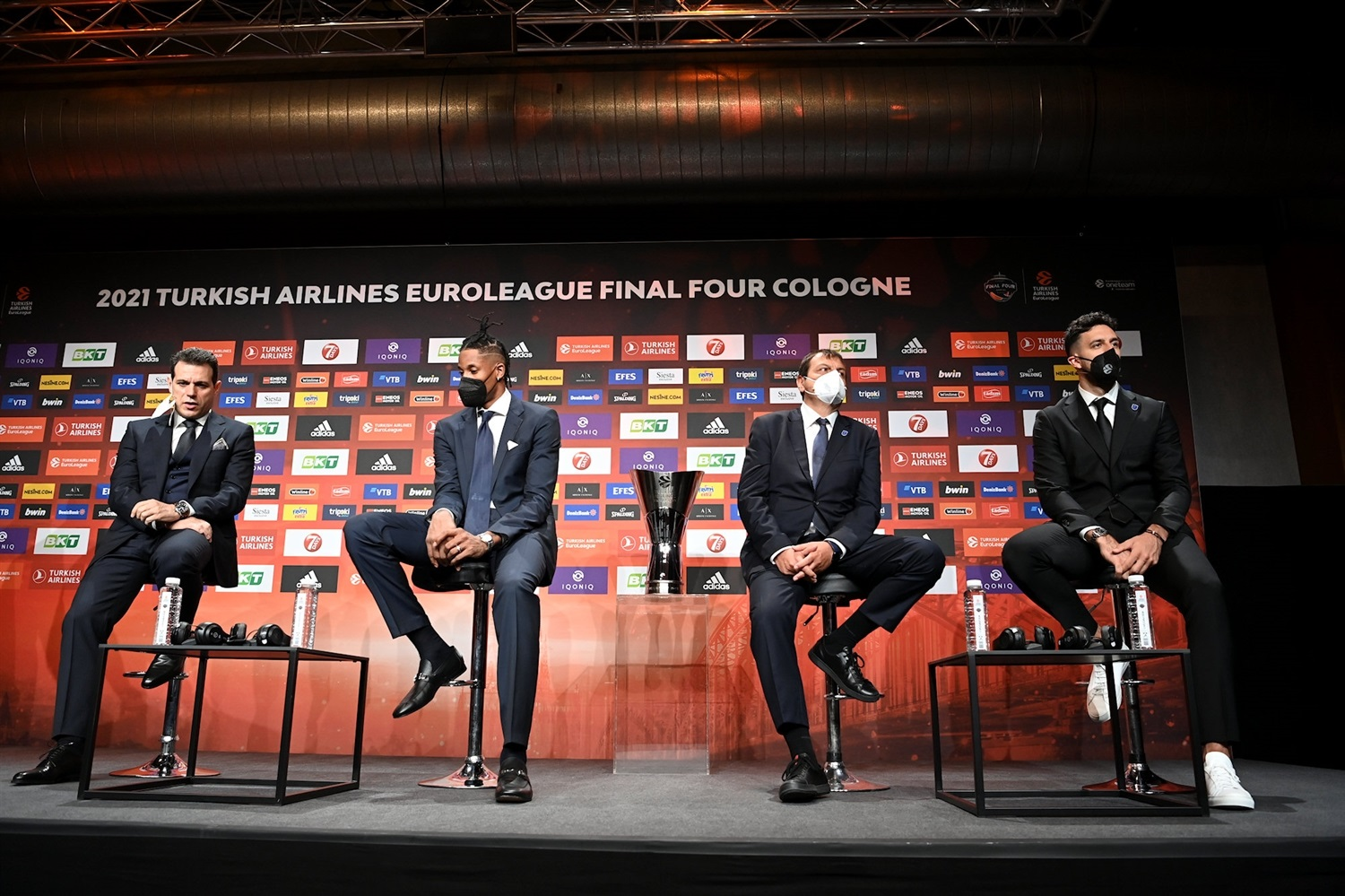 CSKA Moscow vs. Anadolu Efes Istanbul - Opening Press Conference - Final Four Cologne 2021 - EB20
