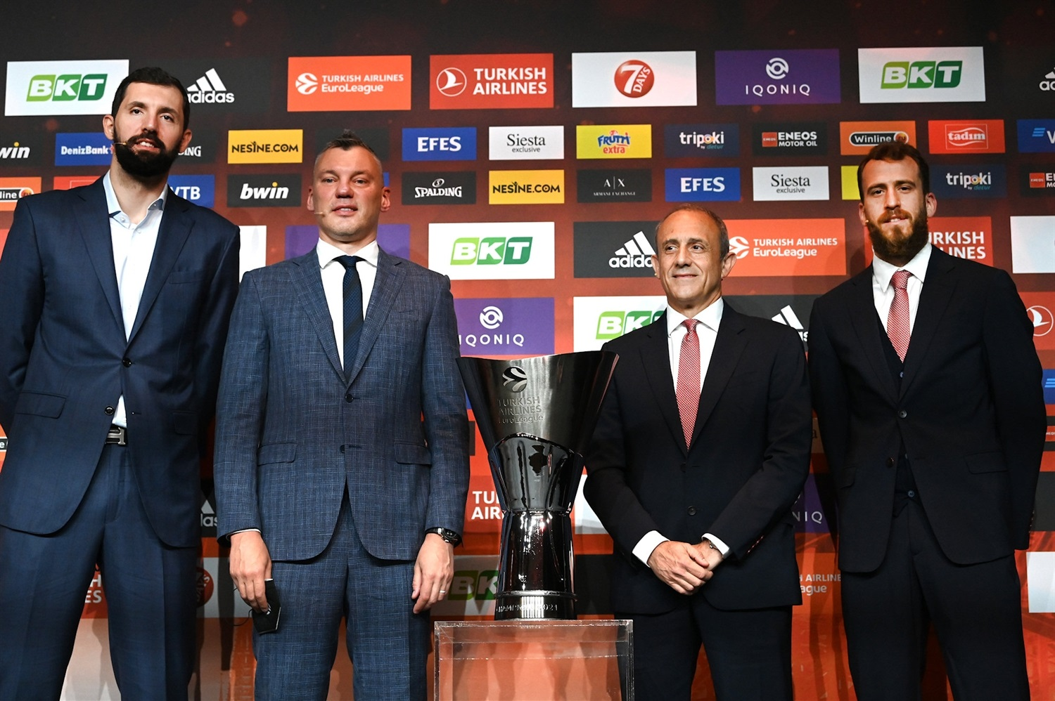 FC Barcelona vs. AX Exchange Armani Milan - Opening Press Conference - Final Four Cologne 2021 - EB20