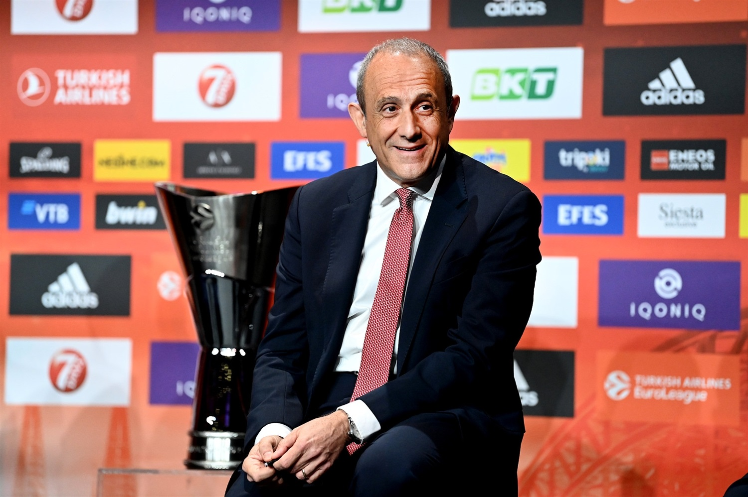 Ettore Messina - AX Exchange Armani Milan - Opening Press Conference - Final Four Cologne 2021 - EB20