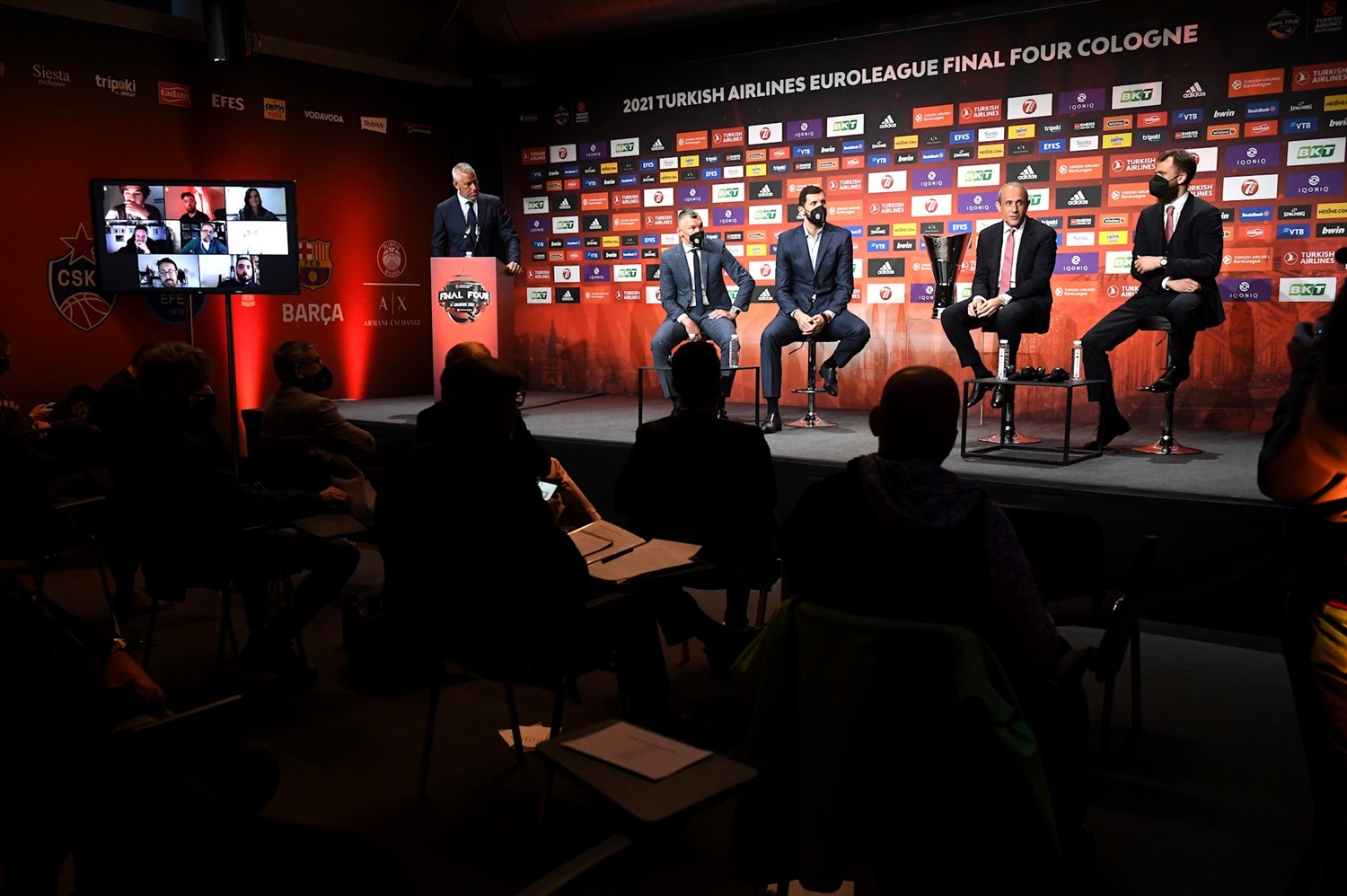 Opening Press Conference - Final Four Cologne 2021 - EB20