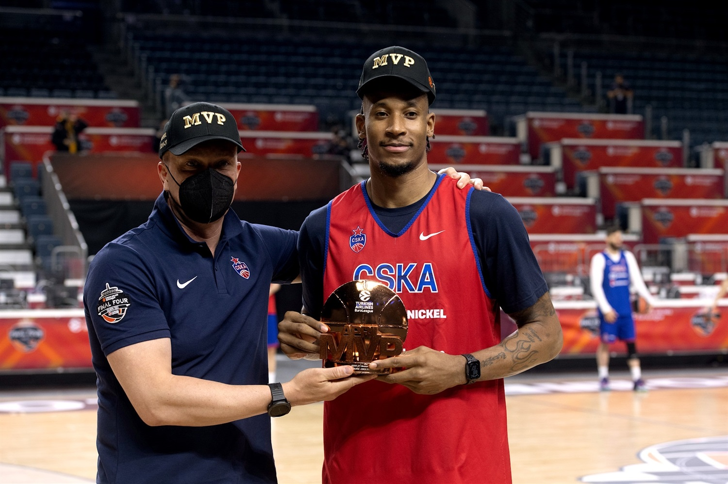 Will Clyburn, April MVP - CSKA Moscow - Final Four Cologne 2021 - EB20