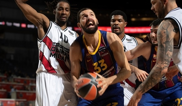 Mirotic bounced back for Barca
