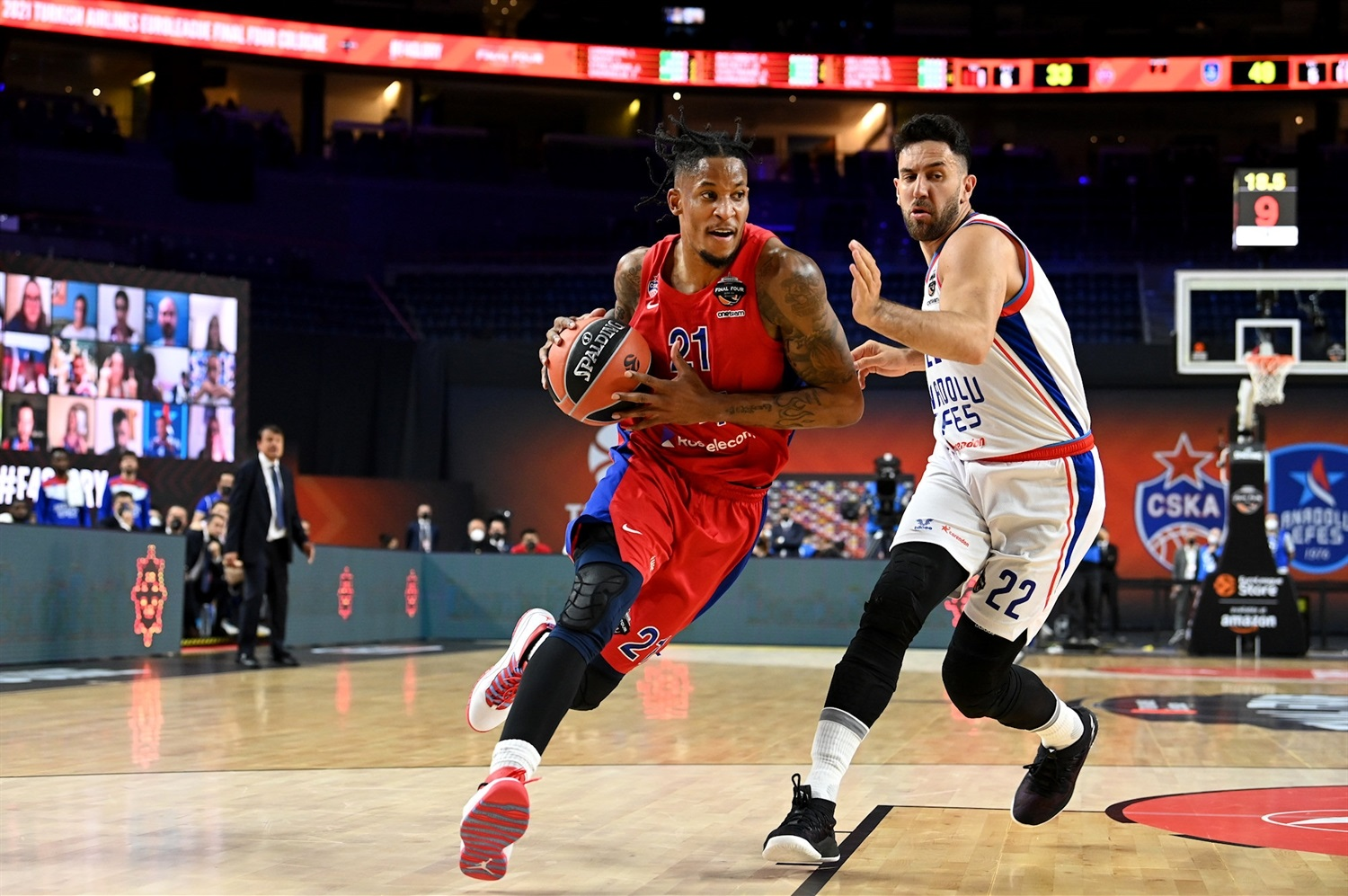Will Clyburn - CSKA Moscow - Final Four Cologne 2021 - EB20